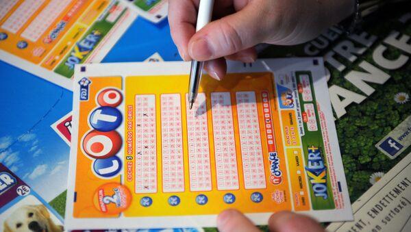 billet de loterie, image d'illustration - Sputnik France