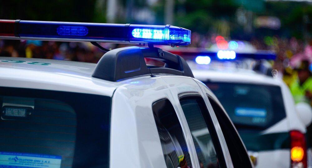 Voiture de police (image d'illustration)