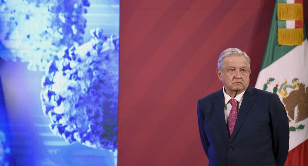Le président Lopez Obrador a contracté le coronavirus — Mexique