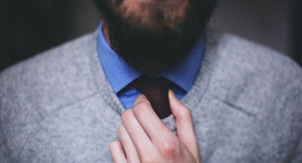 Une personne barbue