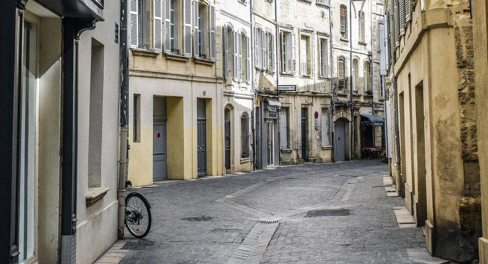 Une rue vide (image d'illustration)
