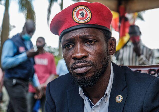 Le chef de l'opposition ougandaise Bobi Wine