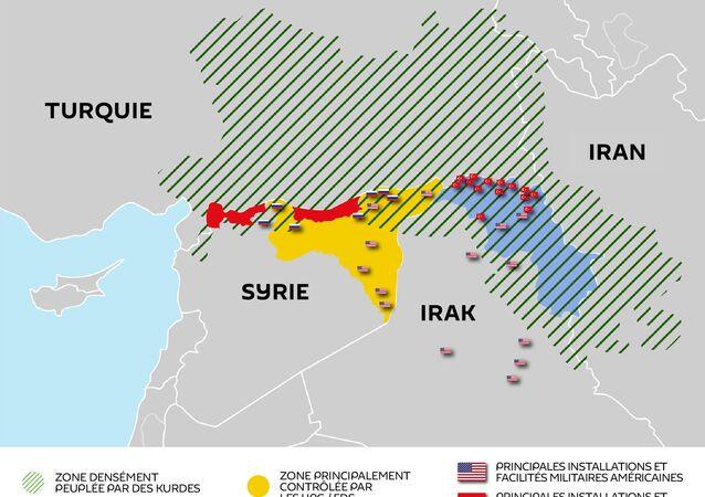 Les Kurdes : une place cruciale entre les USA et la Turquie