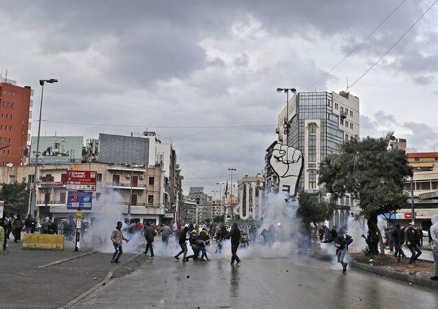 Liban Tripoli Manifestation janvier 2020