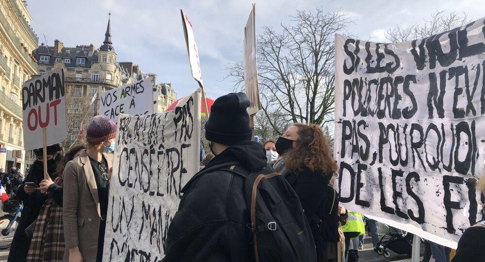 Une nouvelle manifestation contre la loi Sécurité globale se tient à Paris le 30 janvier
