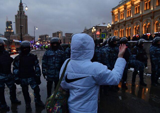 Situation à Moscou le jour de nouveaux rassemblements non autorisés