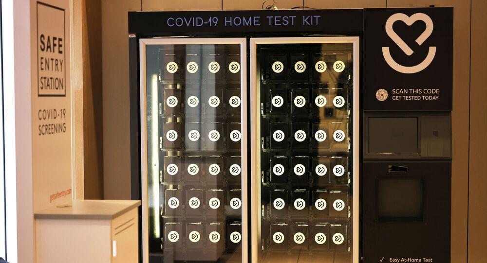 Des distributeurs automatiques de tests de dépistage du Covid-19