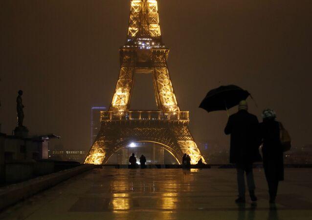 Paris pendant le couvre-feu