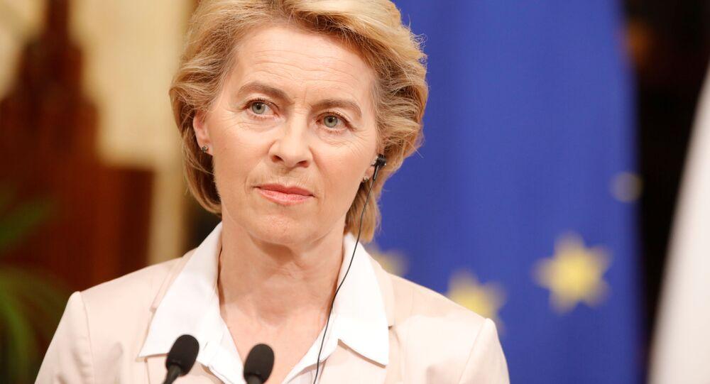 La présidente de la Commission européenne