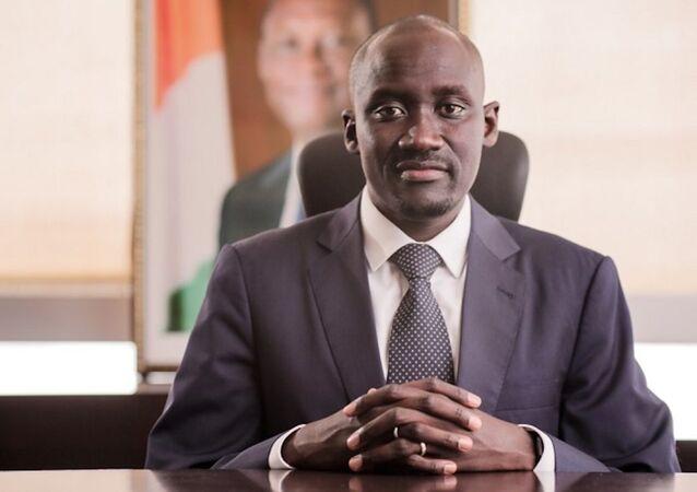 Abdourhamane Cissé, ministre du Pétrole, de l'Énergie et des Énergies renouvelables de la Côte d'Ivoire