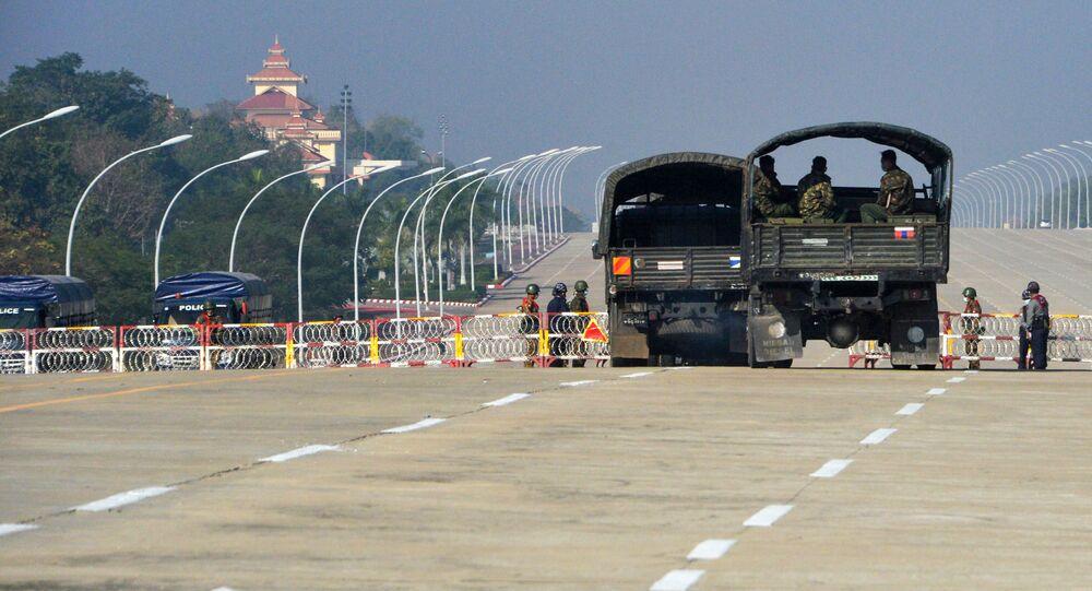 Des soldats en Birmanie