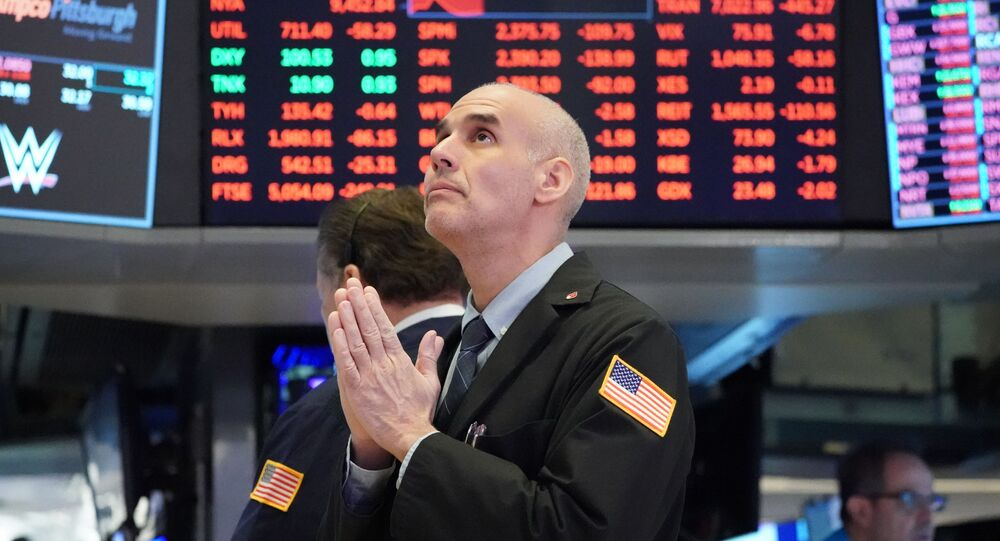 Un trader à Wall Street