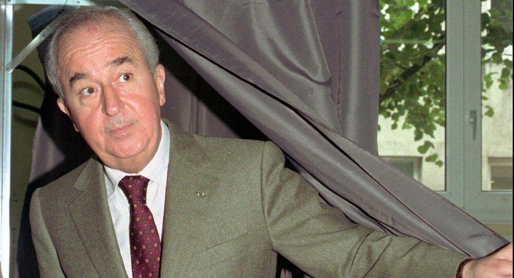 l'ex-Premier ministre Édouard Balladur