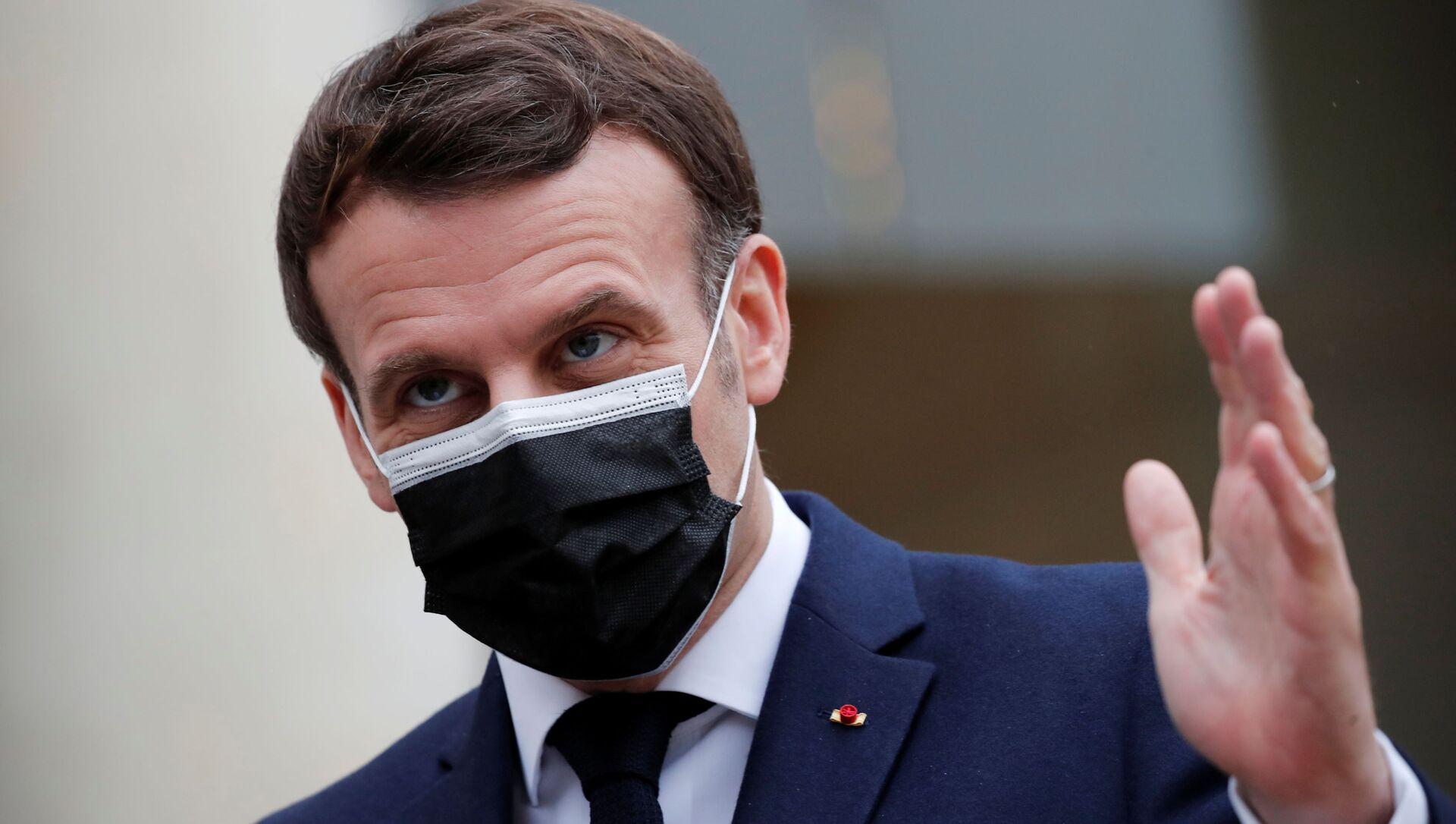 Emmanuel Macron - Sputnik France, 1920, 02.03.2021