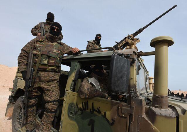 Les forces armées tunisiennes