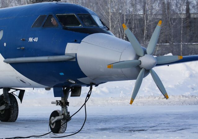 Le Yak-40 doté d'un moteur électrique