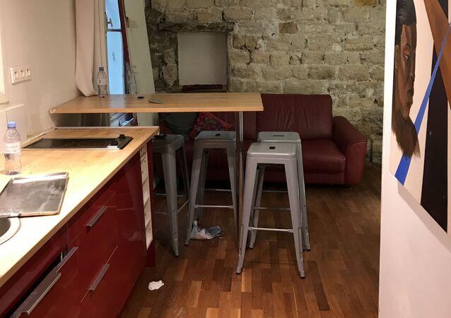 Appartement squatté rue Trévise, Paris IXe