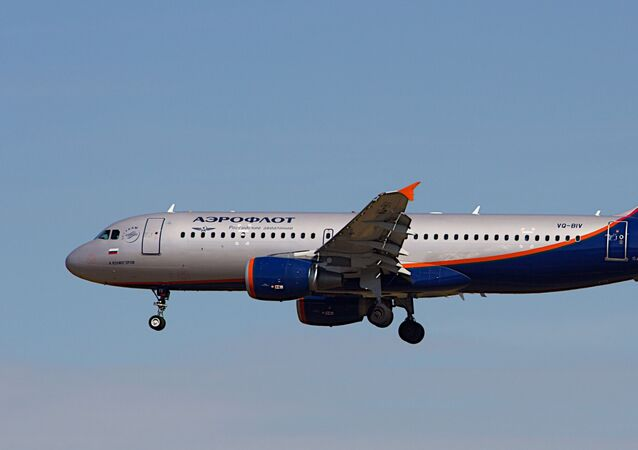 Un Airbus A320 d'Aeroflot (archive photo)