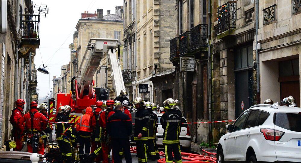 Explosion à Bordeaux, le 6 février 2021