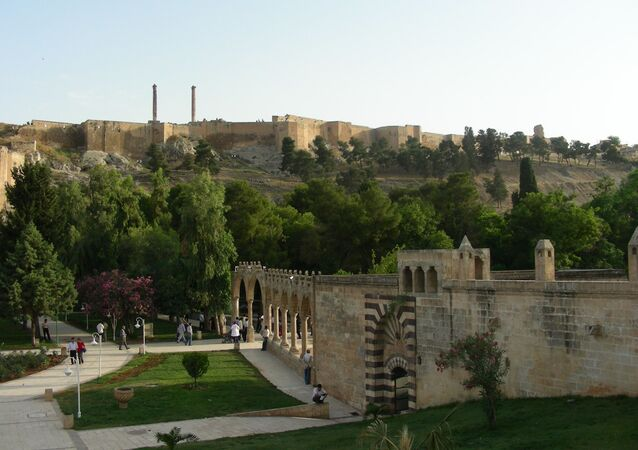 Urfa, capitale de la province turque de Sanliurfa