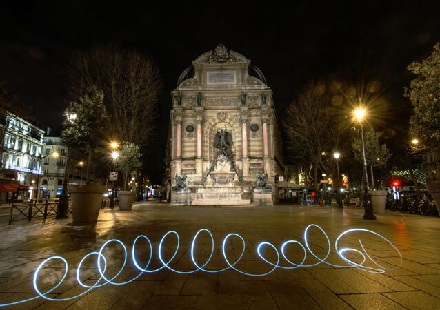 Paris vidée sous les mesures restrictives