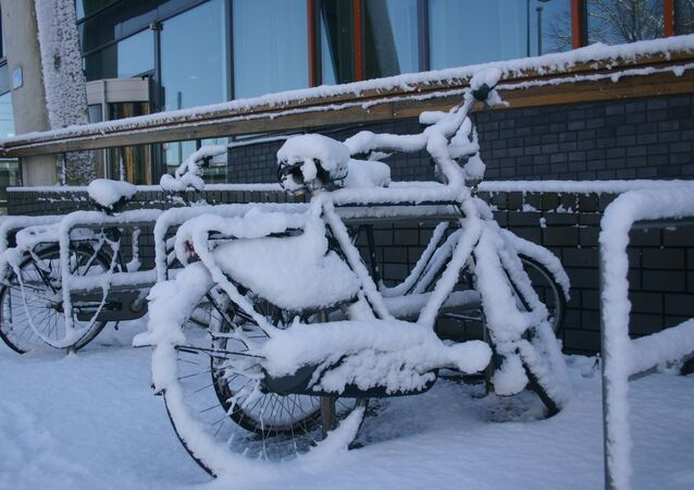 Amsterdam en hiver (archive photo)