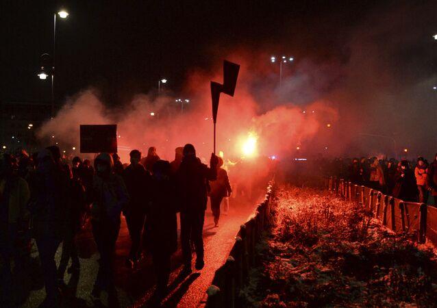 Manifestations en Pologne le 28 janvier contre l'arrêt sur l'avortement