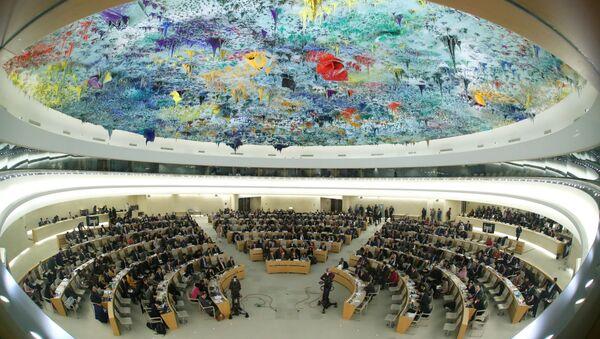 Le Conseil des droits de l'homme de l'Onu (photo d'archives) - Sputnik France