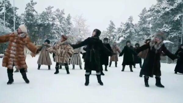 La danse de femmes yakoutes par -45˚C - Sputnik France