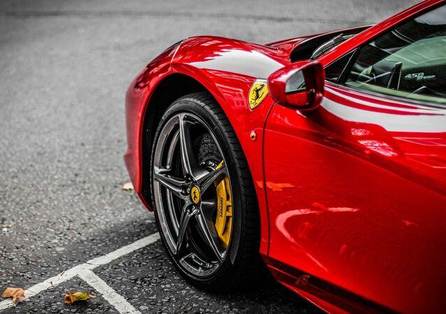 Une Ferrari (image d'illustration)