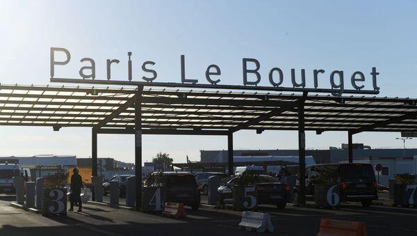 Entrée de l'aéroport Le Bouget  - Sputnik France
