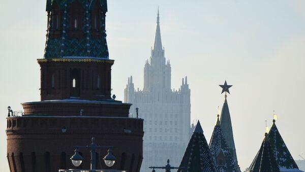Le Kremlin et le ministère russe des Affaires étrangères (archive photo) - Sputnik France
