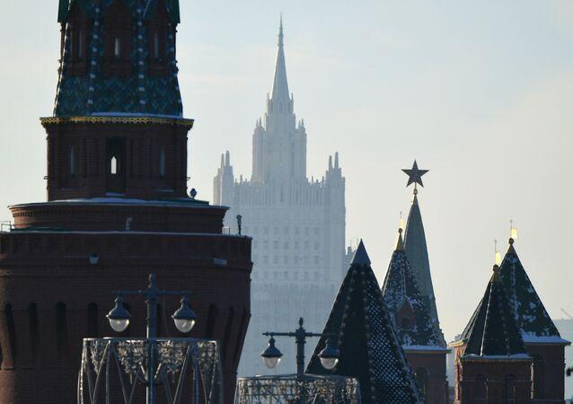 Le Kremlin et le ministère russe des Affaires étrangères (archive photo)