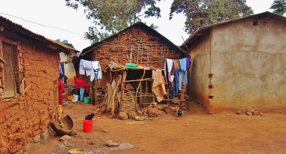 Un village en Tanzanie