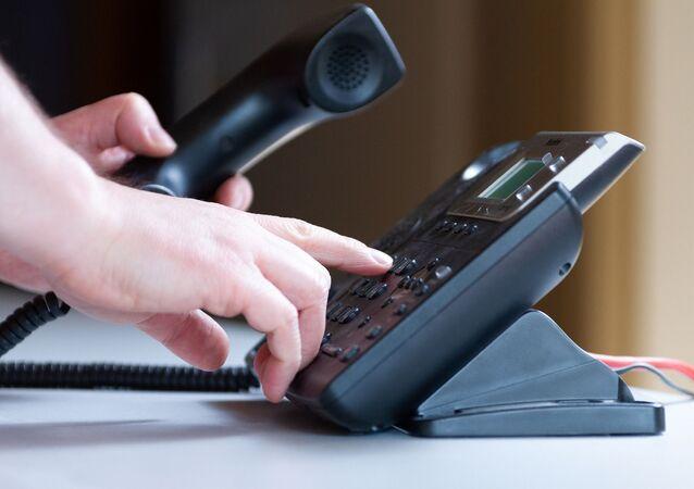 Un téléphone (image d'illustration)