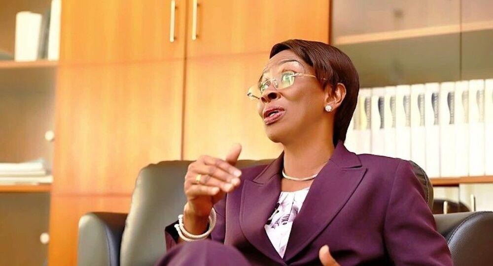 Bakayoko-Ly Ramata, ministre ivoirienne de la Femme, de la Famille et de l'Enfant