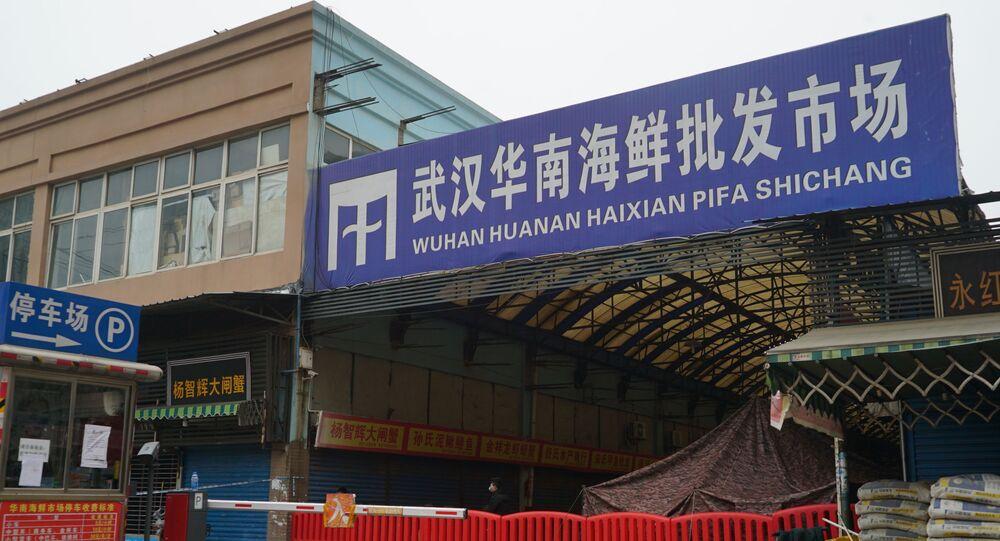 le marché de Wuhan