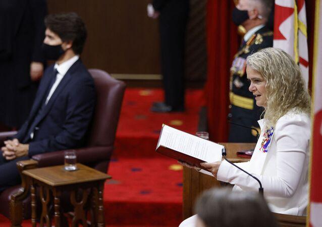 La gouverneure du Canada Julie Payette