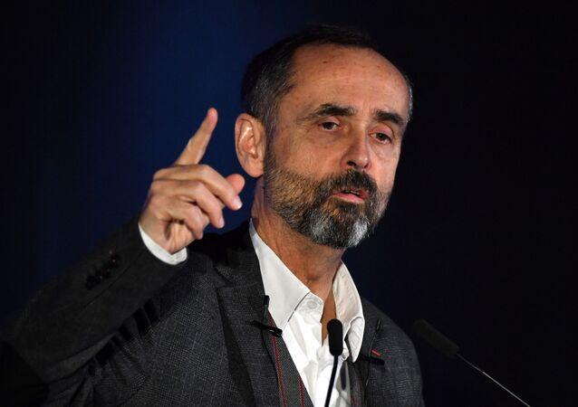 Rober Ménard, maire de Béziers