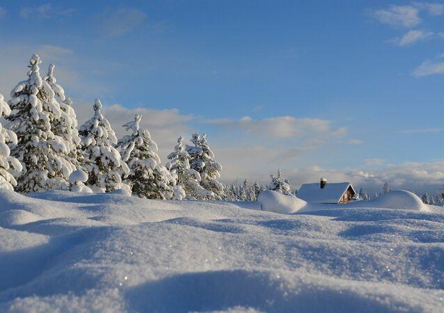 L'hiver, la neige