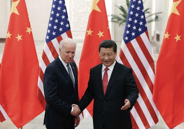 Joe Biden et Xi Jinping.