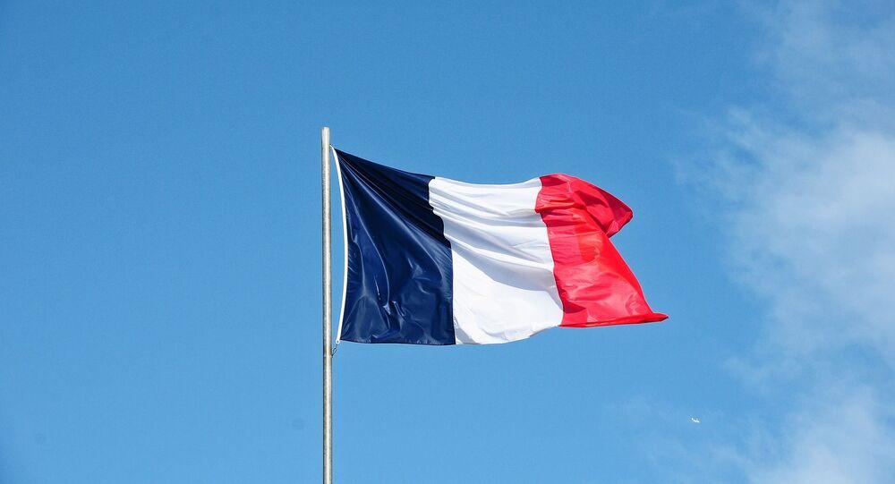 Le drapeau français (image d'illustration)