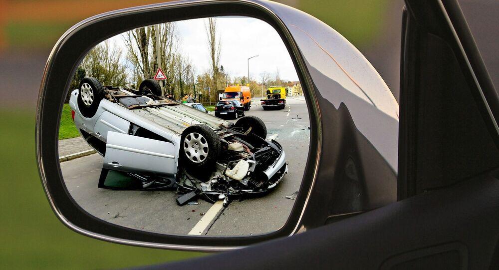 Un accident de la route, image d'illustration