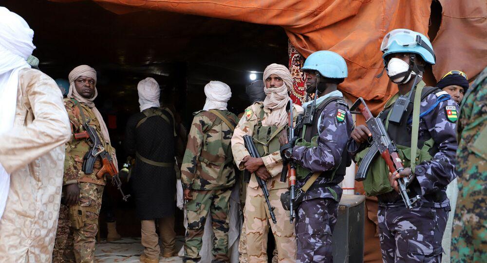 Des soldats togolais de la Minusma
