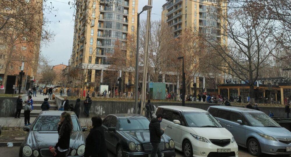 Erevan après lé séisme du 13 février 2021
