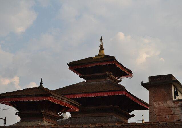 Place de Dunbar, à Katmandou