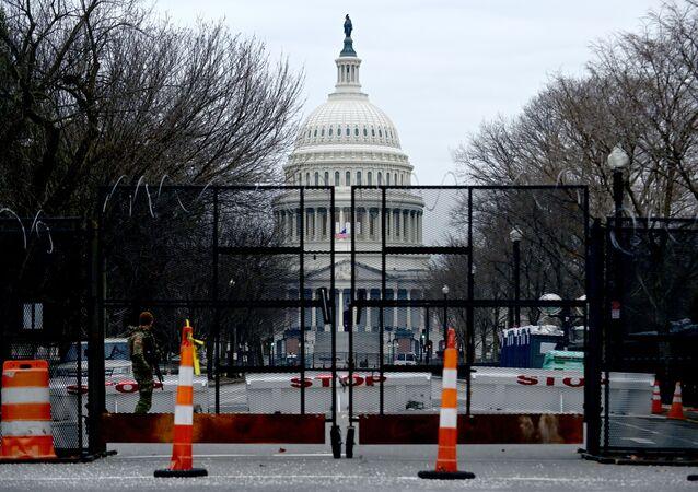Le Capitole lors du procès en destitution de Donald Trump