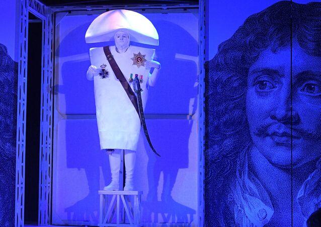 Un spectacle consacré à Molière