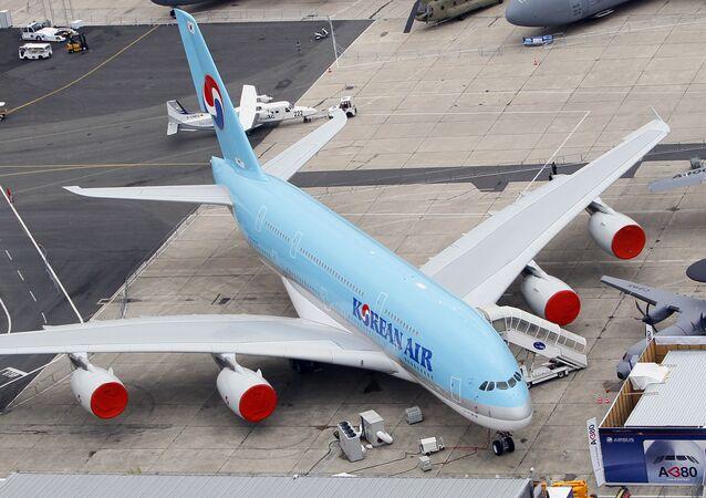 Un Airbus A380 de Korean Airlines (archives)