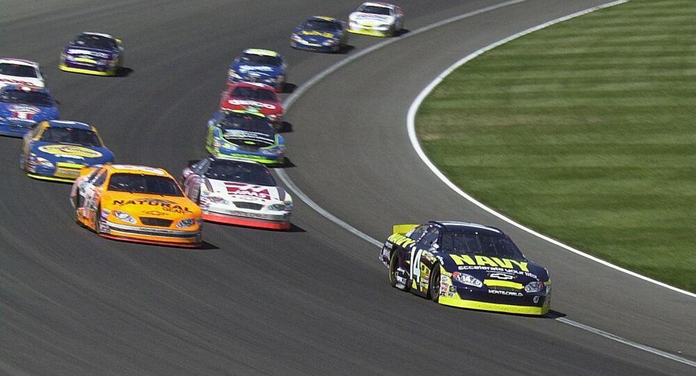 Une course de la NASCAR